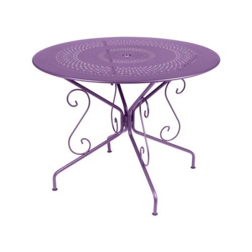 Fermob Montmartre Tisch 96 cm Objekt-Extraschutz-Option!