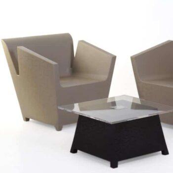qui-est-paul-raffy-armchair-taupe-table-black