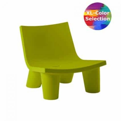 Slide LOW LITA Seat tiefer Lounge Sessel, Farbwahl, In-Outdoor