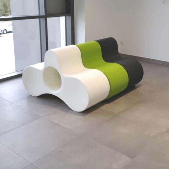 Schön Slide WHEELY Designer Sitzmöbel, Bank, Ablage In Outdoor