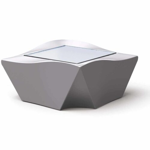 Slide KAMI-NI Side Table / Glastisch Indoor-Outdoor