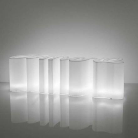 Slide AMORE LIGHT Bank LED Beleuchtung 145 cm b, Indoor