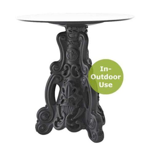 SLIDE LORD-OF-LOVE Tisch Ø 79 oder 69×69 cm Indoor-Outdoor