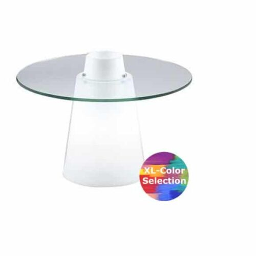 Slide PEAK SOFA-Tisch 40 cm Höhe, rund Ø 70+80cm oder 80×80 cm
