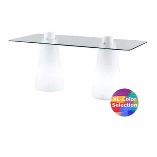 Slide DOUBLE-PEAK Ess-Tisch 72 cm Höhe, 180×80 cm