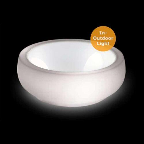 Slide CHUBBY SIDE TABLE LIGHT Ø 100 cm, In-Outdoor
