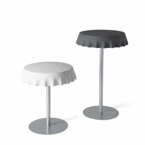 Slide FIZZZ Tisch  Ø 70 cm, 3 Höhen In-Outdoor