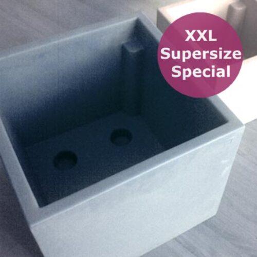 XL Pflanzkasten quadratisch SL-D CUBO-M 50×50 cm Indoor-Outdoor