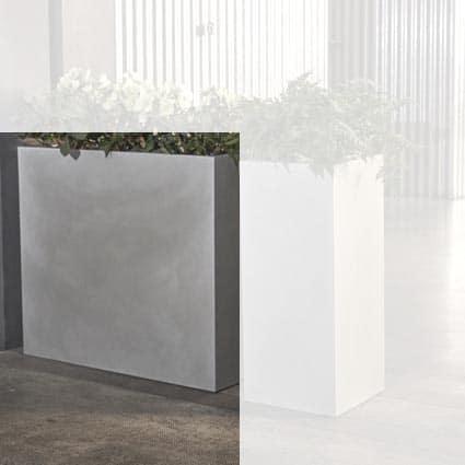 XL Pflanzkasten Blumenkasten E3P-Style CUBE-High-L  80x30x70 cm h, In-Outdoor
