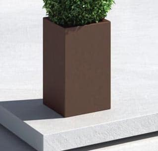 Pflanzkasten E3P-Style CUBE-High-Q  30x30x70 cm h
