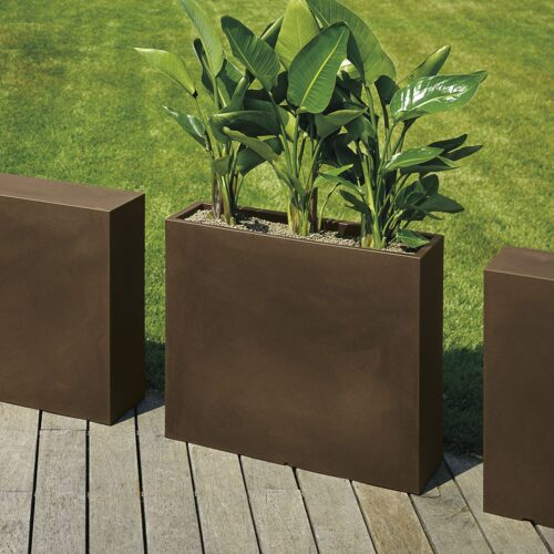 Pflanzkasten E3P-Style CUBE-High-SLIM  80x25x70 cm h, In-Outdoor