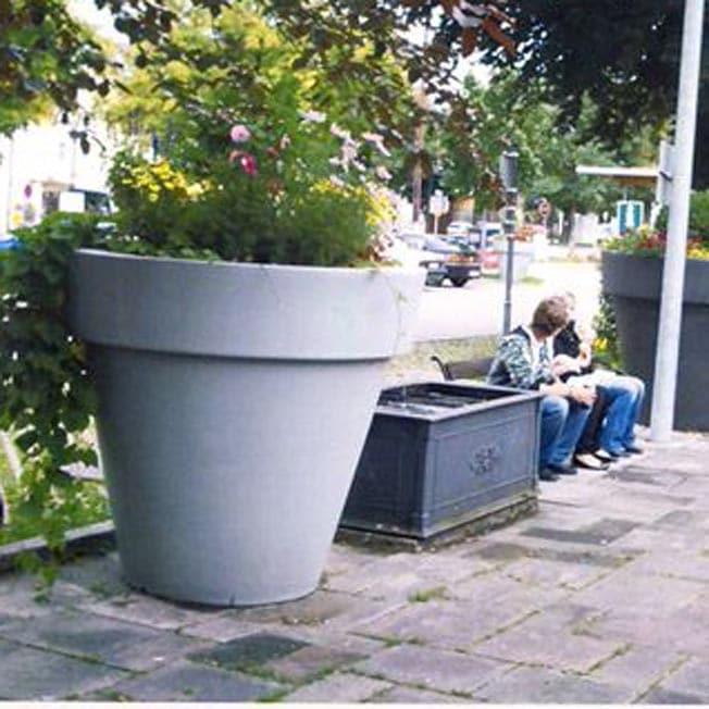 bigsize planter mega gro e pflanzgef e f r ffentliche pl tze bis 200 cm. Black Bedroom Furniture Sets. Home Design Ideas