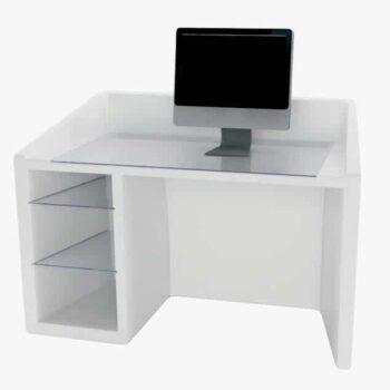 Designer-Schreibtisch-Slide-Design-Kanal