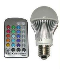 SLIDE RGB LED Multicolor Lampe 5 W, E27 Basis – INDOOR!