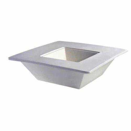 Slide BENCH POT Pflanzgefäß mit Sitzrand 80 oder 140 cm