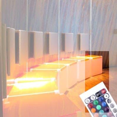 TOP CUBE LED mit Auflage+AKKU-Modul In-Outdoor