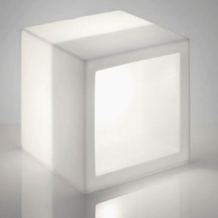 Slide OPEN CUBE 73 LIGHT Regal-Modul beleuchtet