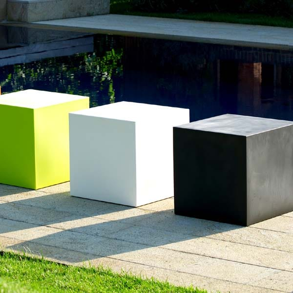 slide cubo in outdoor sitzw rfel stabil wetterfest. Black Bedroom Furniture Sets. Home Design Ideas