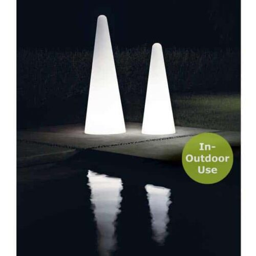 Slide CONO LIGHT Stehleuchte 113 oder 150 cm h, In-Outdoor