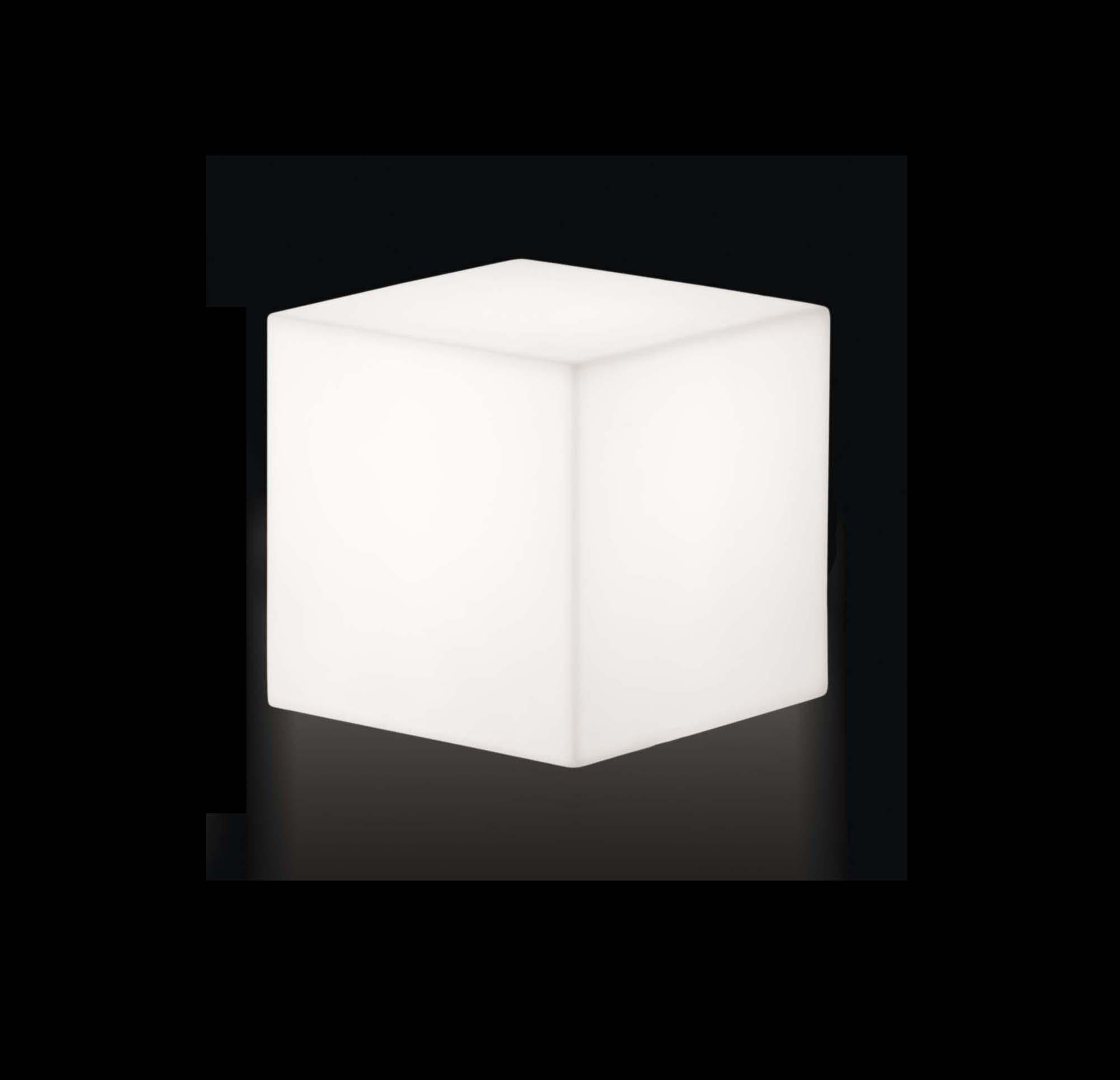 slide cubo 30 leuchtwürfel optionale beleuchtung weiß oder farbig