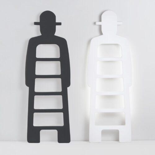 Slide MR. GIÒ LIGHT mit Neon Backlight Design-Leiter, Deko Indoor