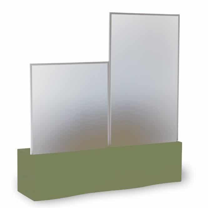 Slide Prive Raumteiler Pflanzkasten Sichtschutz Buro Balkon Terrasse