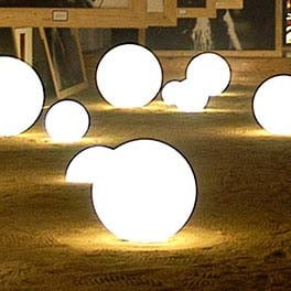 Slide GLOBO GLOSSY INDOOR (LED) Bodenleuchte Ø 30 bis 80 cm