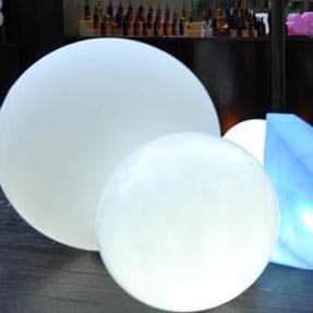 Slide GLOBO OUTDOOR GLATT Leuchtkugel 3 Gr. Ø 60 70 80 cm