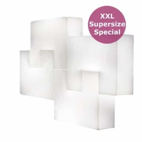 Slide PZL SLOT Boden- oder Wandleuchte 140x20x100 cm Indoor