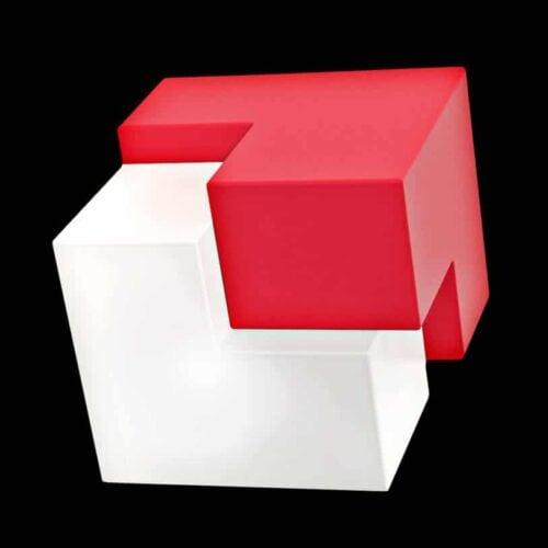 Slide FIT Puzzle Bodenleuchte 45x40x45 cm Indoor