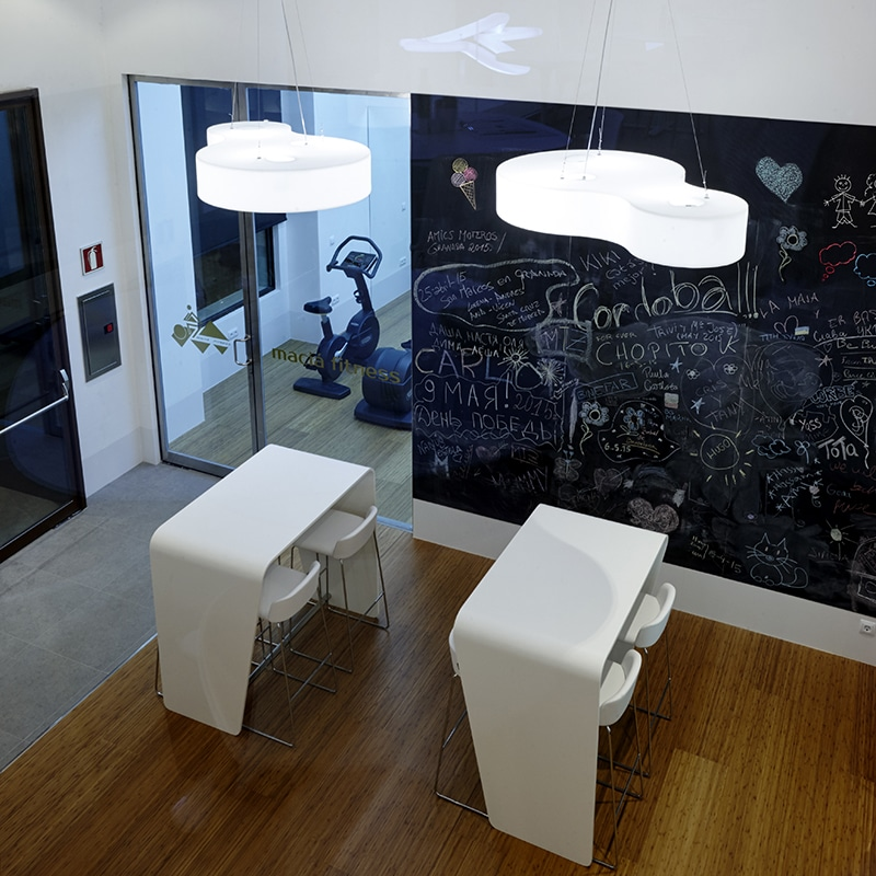 Slide NUVOLA Pendelleuchte 152×95 cm Indoor | casaplanta