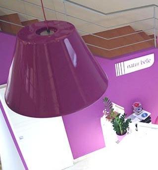 Slide BLN LACK Pendelleuchte Auswahl-Größen Ø 56 o. 80 cm Indoor