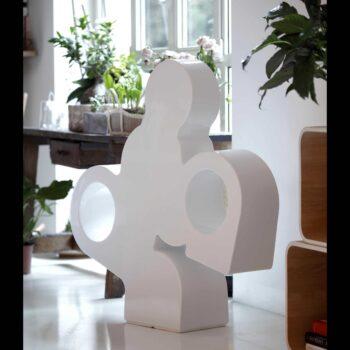 slide-there-modern-art-reiter-jockey-skulptur-lack-indoor-outdoor