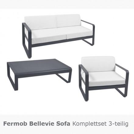 Fermob BELLEVIE Sofa Komplettset 3-teilig