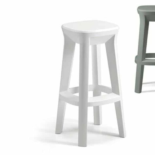 PLUST FROZEN SQUARE STOOL Barhocker Indoor-Outdoor