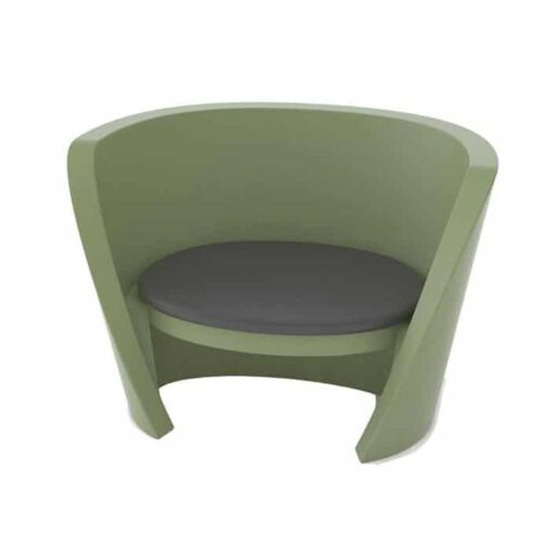 Slide RAP CHAIR 115 cm b, stapelbar, Farbwahl, In-Outdoor
