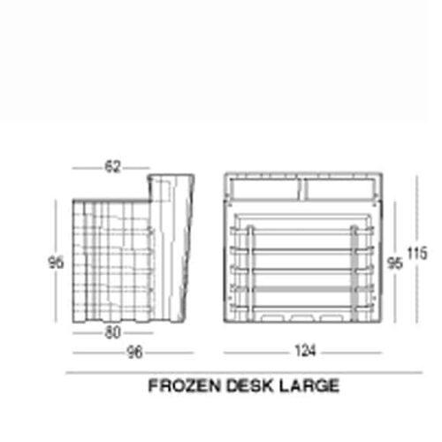 PLUST FROZEN LARGE DESK SHELF KIT / Regalböden
