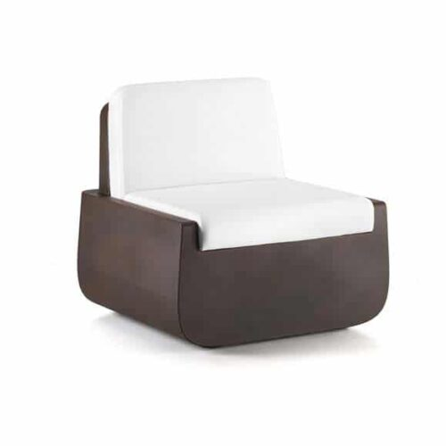 PLUST BOLD ARMCHAIR inkl. Kissen Indoor/Outdoor
