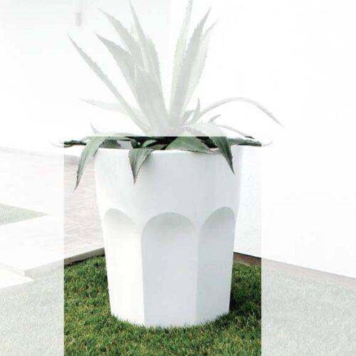 PLUST CUBALIBRE XL Design-Pflanzgefäß In-Outdoor