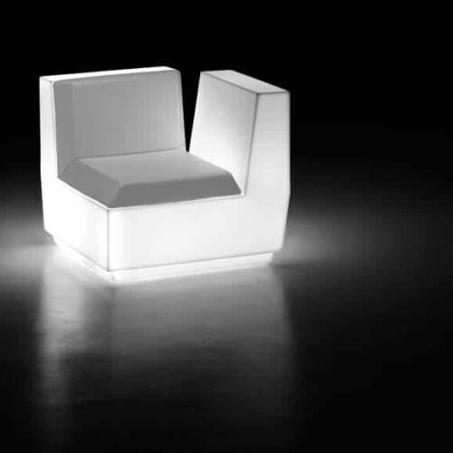 PLUST BIG CUT CORNER LIGHT Sofa-Eckmodul inkl. Kissen In-Outdoor
