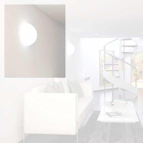 Slide MEZZO GLOBO Wand-Deckenleuchte 40/50 cm Indoor