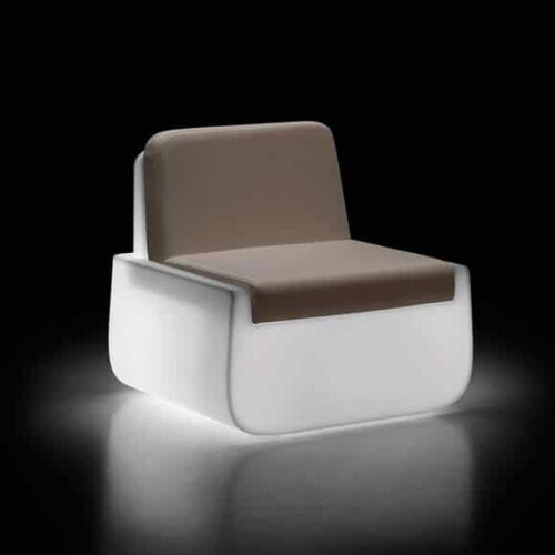PLUST BOLD ARMCHAIR LIGHT inkl. Kissen In-Outdoor