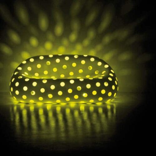 PLUST AIRBALL SOFA LED LIGHT 165 cm b, Indoor-Outdoor