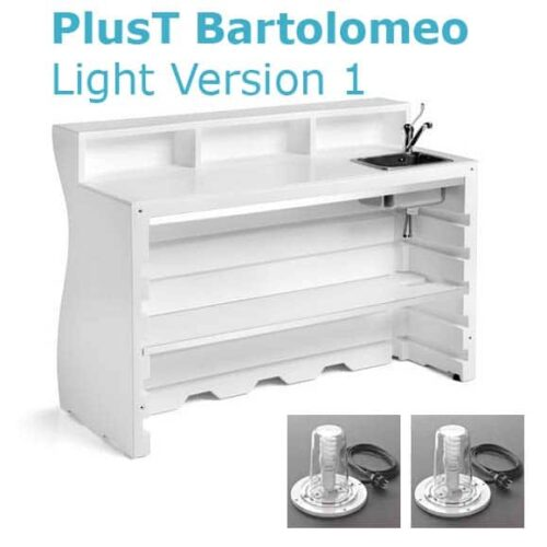 PLUST BARTOLOMEO DESK LIGHT Version 1 inkl. Spülbecken