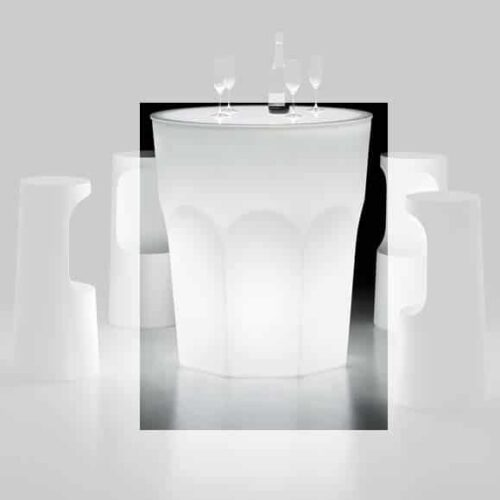 PLUST CUBALIBRE TABLE LIGHT Stehtisch beleuchtet Indoor