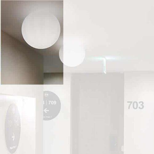 Slide GLOBO WALL Wand-Deckenleuchte 30 oder 40 cm Indoor