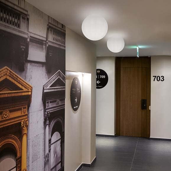 slide morea wand decken oder pendelleuchte 49 cm indoor casaplanta. Black Bedroom Furniture Sets. Home Design Ideas