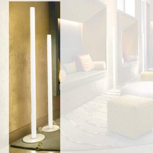 Slide FLUX LED-Standleuchte 124 + 154 cm h Indoor