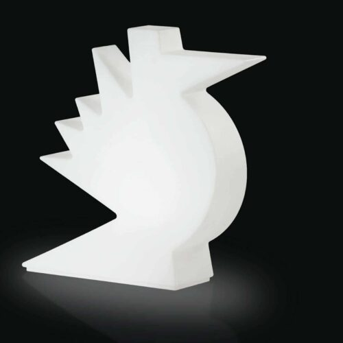 Slide HERE LIGHT Designer Leuchte Vogel-Skulptur 50 cm Indoor