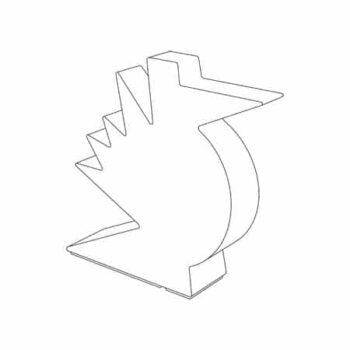 slide-here-skulptur-leuchte-vogel-comic-style